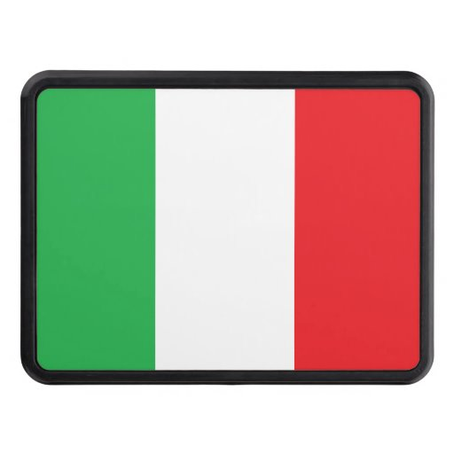 Italian Trailer Hitch Cover