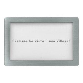 Italian-Village Belt Buckles