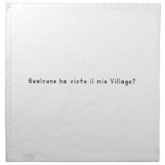Italian-Village Napkin