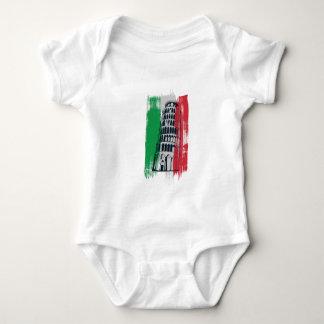 italian vintage statue baby bodysuit