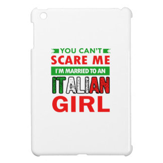Italian Wife Wife iPad Mini Cover