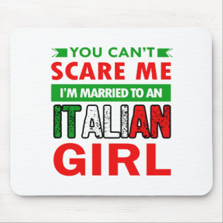 Italian Wife Wife Mouse Pad