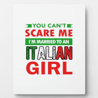 Italian Wife Wife Plaque