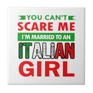 Italian Wife Wife Tile