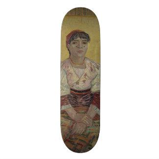 Italian Woman by Vincent Van Gogh Skate Deck