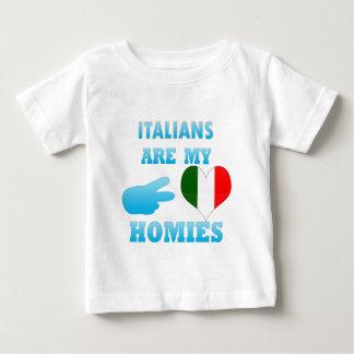Italians are my Homies Baby T-Shirt