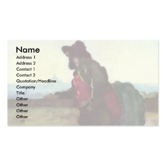 Italians On The Pincio Hill (Rome) By Grigorescu Pack Of Standard Business Cards