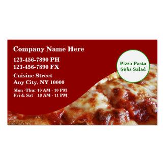 Italine Restaurant Business Cards