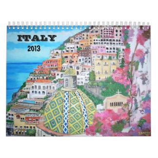 Italy, 2013 Calendar