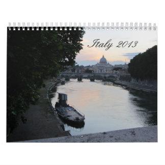 Italy 2013 wall calendars
