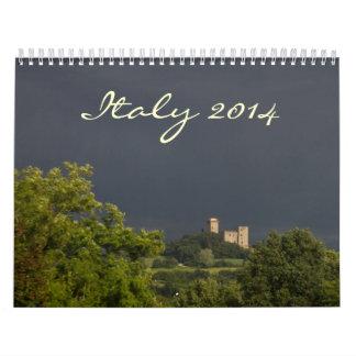Italy 2014 Calendar