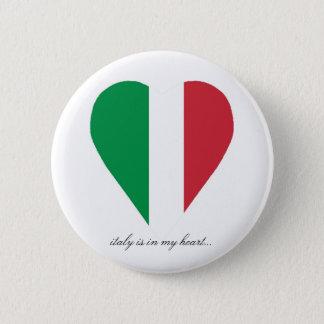 ITALY 6 CM ROUND BADGE
