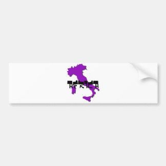 italy, AFRICA Bumper Sticker