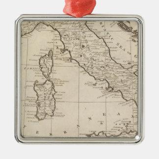 Italy, and Sardinia Metal Ornament