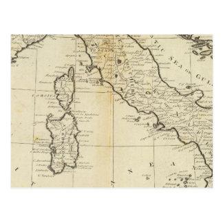 Italy and Sardinia Postcard