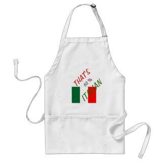 ITALY  APRON  CUSTOMIZE  50% ITALIAN