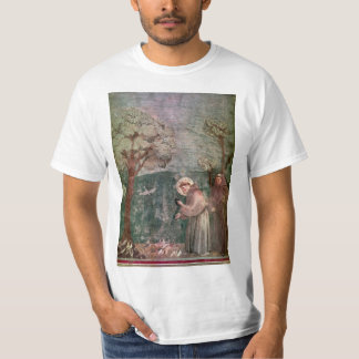Italy, Assisi, St Francis and the birds T-Shirt