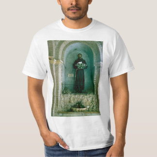 Italy, Assisi, Statue of St Francis of Assisi T Shirts