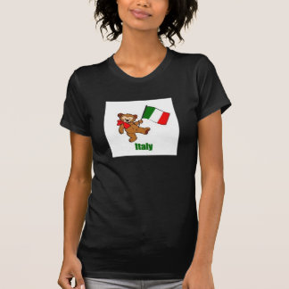 Italy Bear Ladies T-Shirt