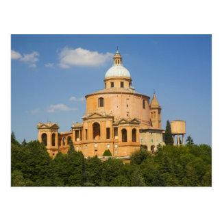 Italy, Bologna, Sunny Day with Portico di San Postcard