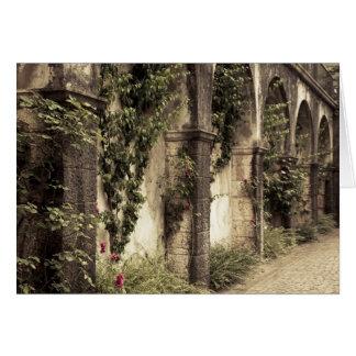 Italy, Brescia Province, Gardone Riviera. Garden Card