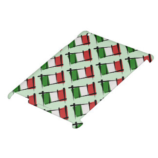 Italy Brush Flag Case For The iPad 2 3 4