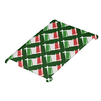Italy Brush Flag iPad Case