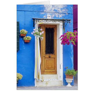 Italy- Burano Blue Card