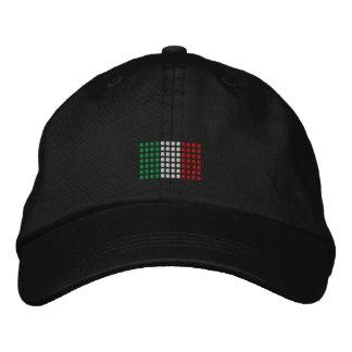 Italy Cap -Italian Flag Hat Embroidered Cap