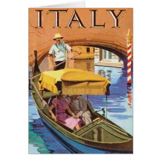 Italy - Card De Felicitación