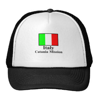 Italy Catania Mission Hat