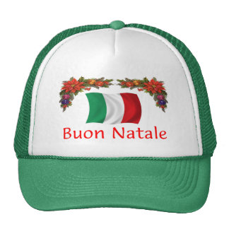 Italy Christmas Trucker Hat