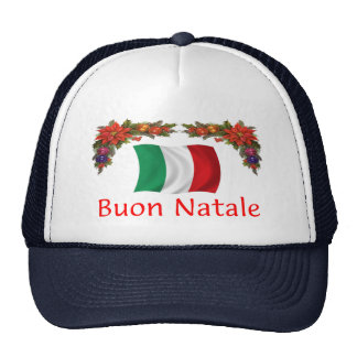 Italy Christmas Mesh Hat