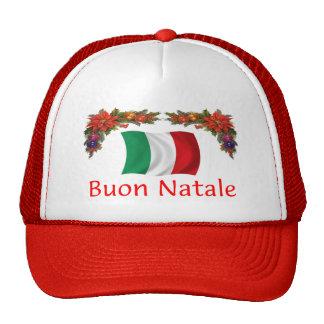 Italy Christmas Trucker Hats