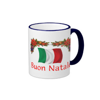 Italy Christmas Mugs