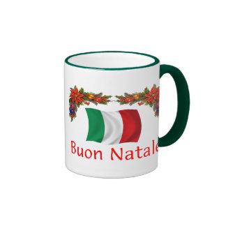 Italy Christmas Coffee Mugs