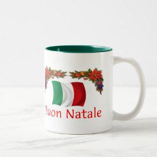Italy Christmas Mug