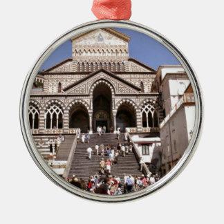 Italy, Church on the Amalfi coast Ornament