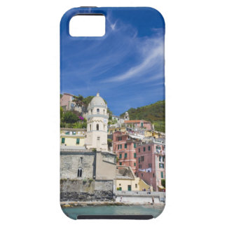 Italy, Cinque Terre, Vernazza, Harbor and Church iPhone 5 Cases