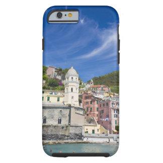 Italy, Cinque Terre, Vernazza, Harbor and Church Tough iPhone 6 Case