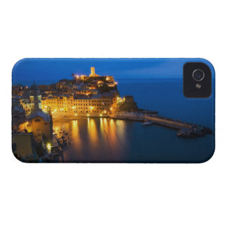 Italy, Cinque Terre, Vernazza, Night View of the Case-Mate iPhone 4 Case