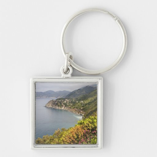 Italy. Coastal hiking area between the villages Keychains