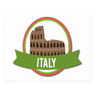 Italy Coliseum Rome Postcard