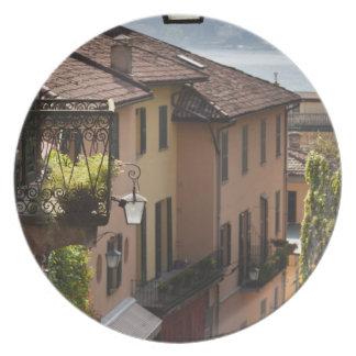 Italy, Como Province, Bellagio. Salita Plates