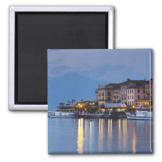 Italy, Como Province, Bellagio. Town view, Magnet