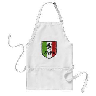 Italy Crest Cooking Apron
