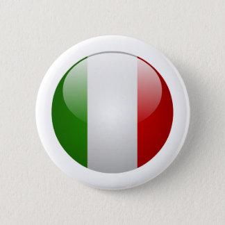 Italy Flag 6 Cm Round Badge