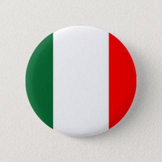 italy-flag 6 cm round badge