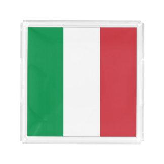 Italy Flag Acrylic Tray
