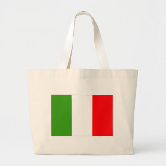 Italy flag tote bags